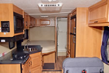 Standard Cruise 25 Foot RV Interior