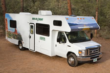 Large 30 Foot Cruise RV Exterior