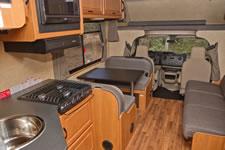 Large 30 Foot Cruise RV Interior