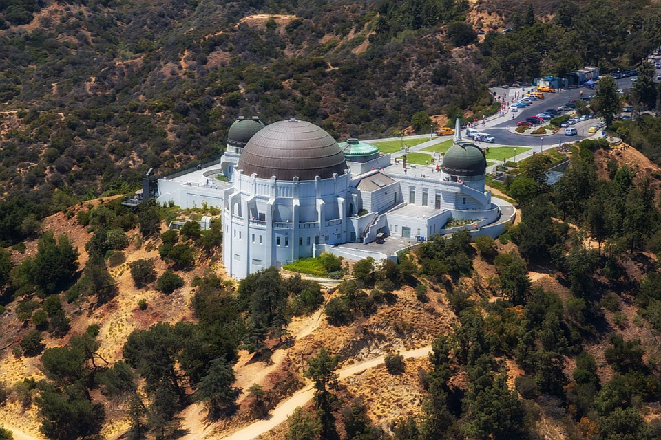 Griffith Observatory Sky View