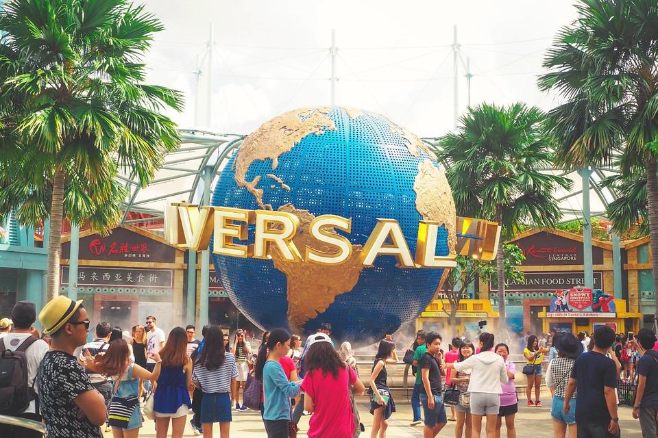 LA Universal Studios Sign