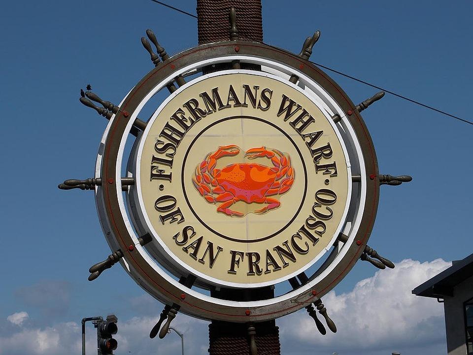 Fishermans Wharf San Francisco Sign