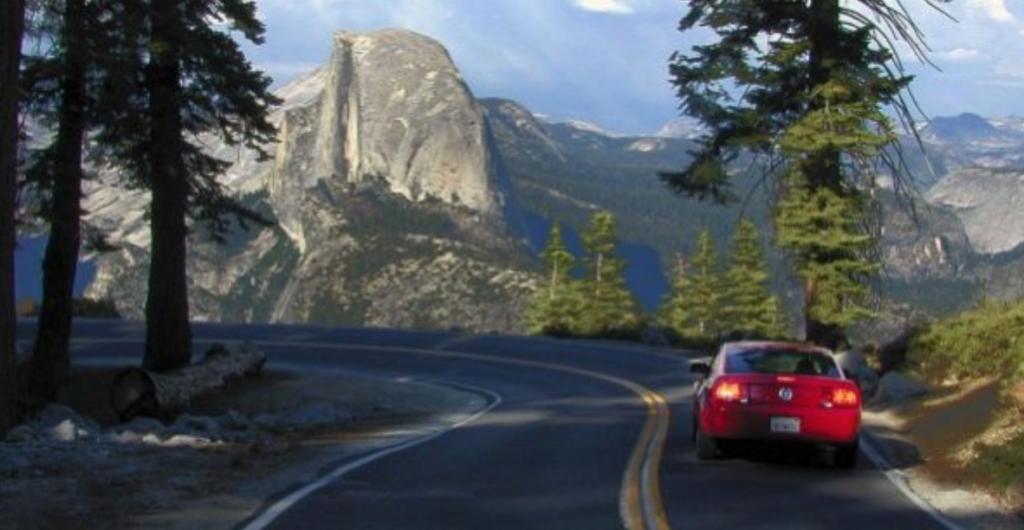 Yosemite National Park Scenic Road