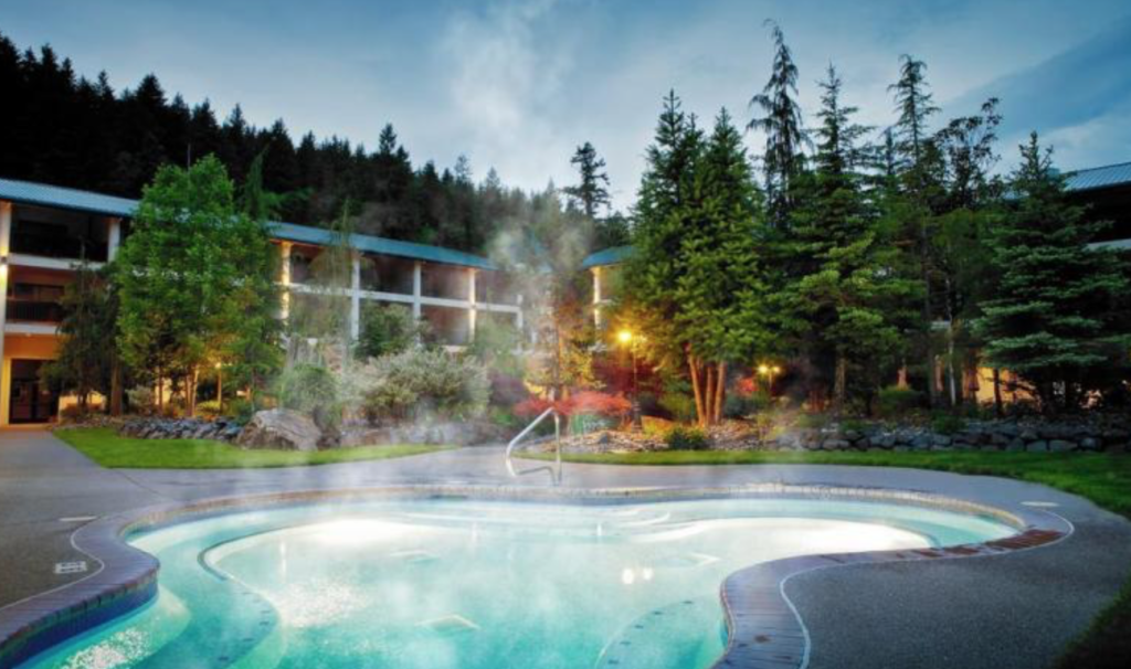 Bonneville Hot Springs Pool