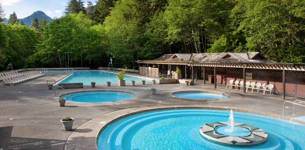 Pool in Olympic National Park