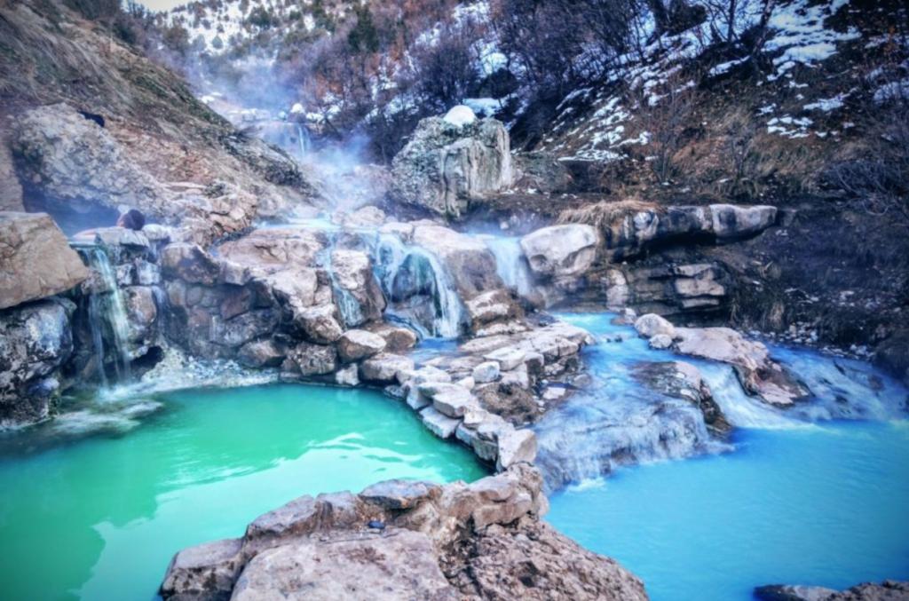 Natural Hot Springs Blue Waters