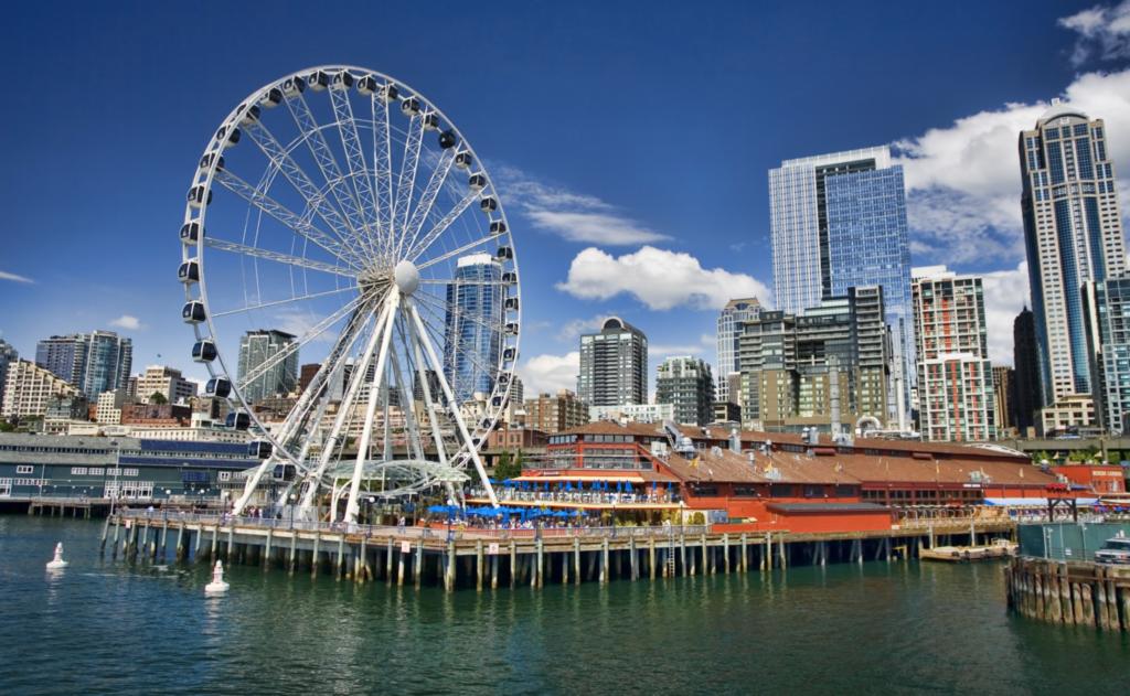 Seattle Great Wheel at Pier 57