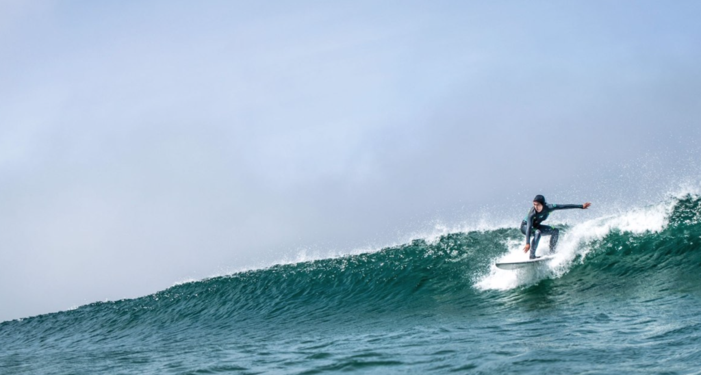 Pacific Coast surfing