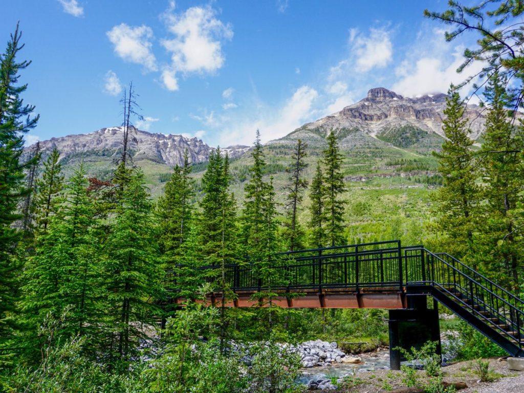 Bridge at Kootenay National Park