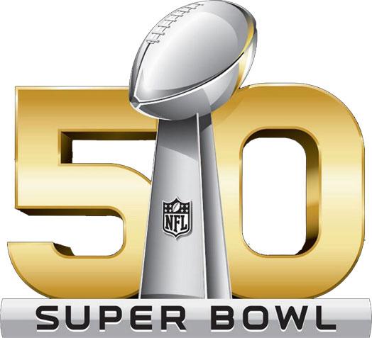Super Bowl 50 logo on a transparent background.