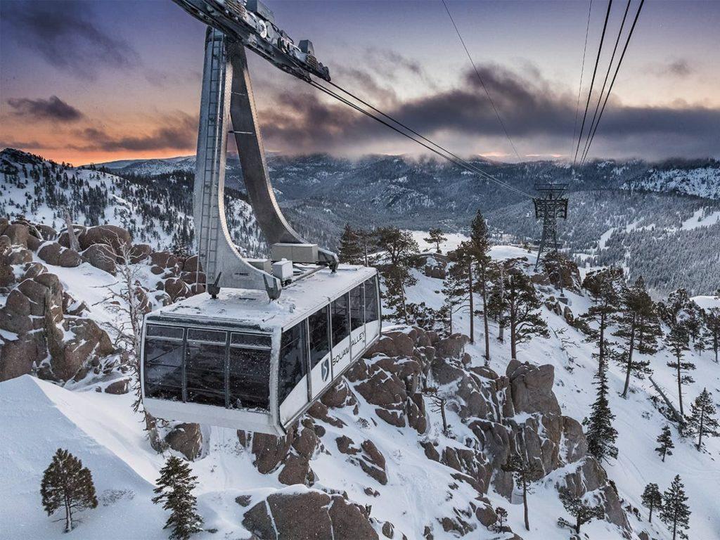 Squaw Valley Alpine Meadows ski resort