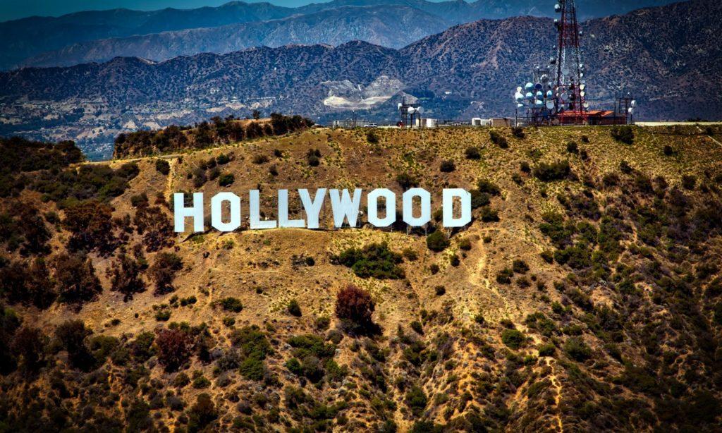 California Hill Hollywood Sign
