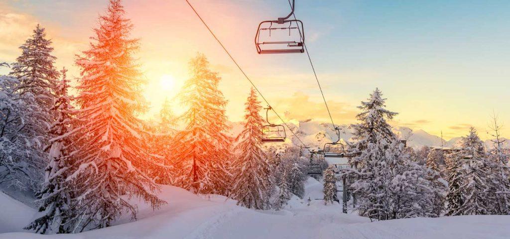 Visit ski resorts in rv