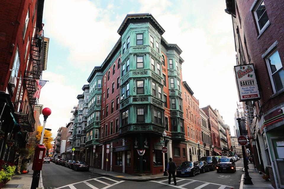 Boston North End Street View