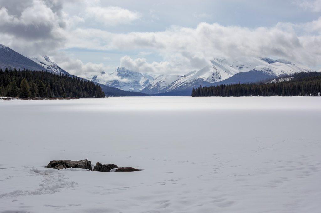 Jasper National Park in Winter