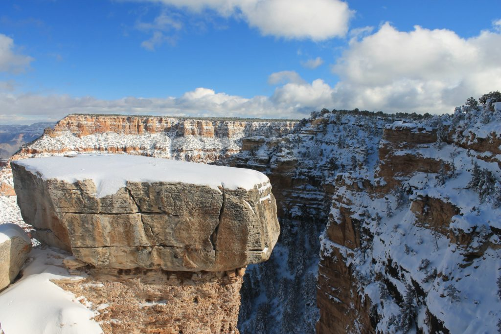 RVing Grand Canyon Winter