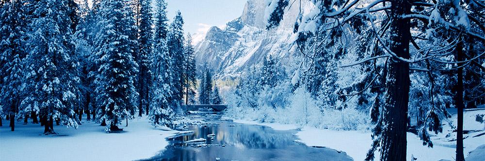 Yosemite for winter holidays